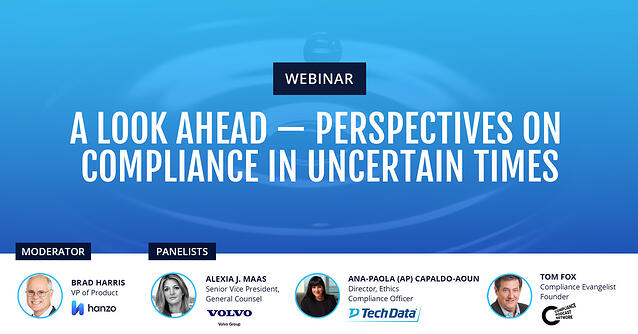 2020-07 - Hanzo Webinar - A Look Ahead - Perspectives on Compliance in Uncertain Times - social