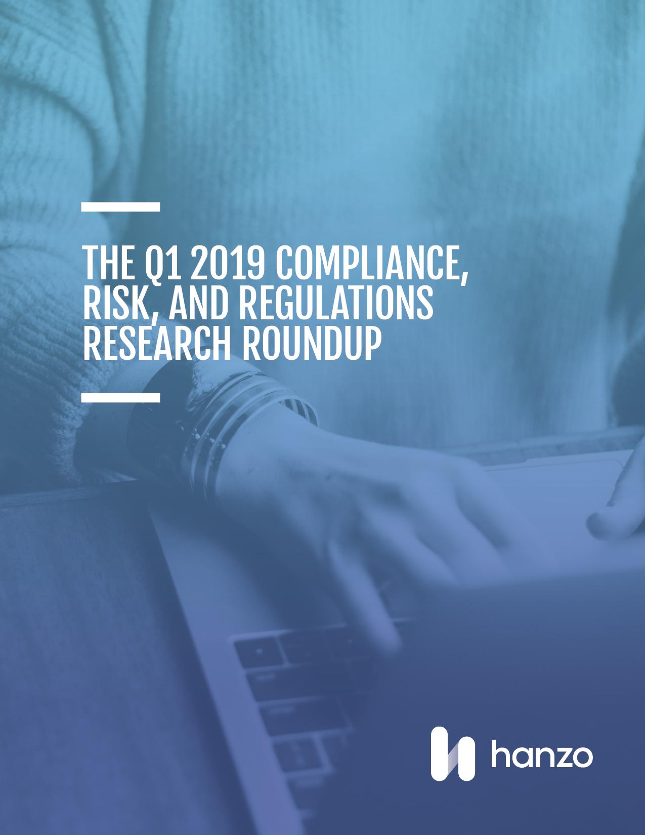 COVER Q1 2019 Compliance e-book