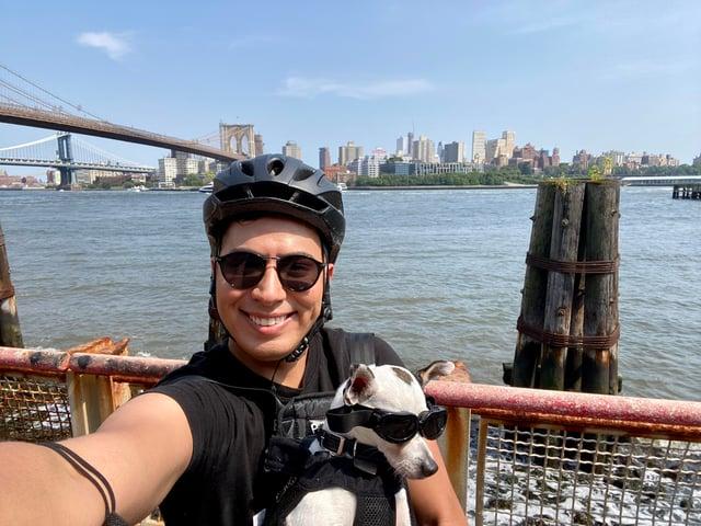 gerardo-tito-biking in nyc