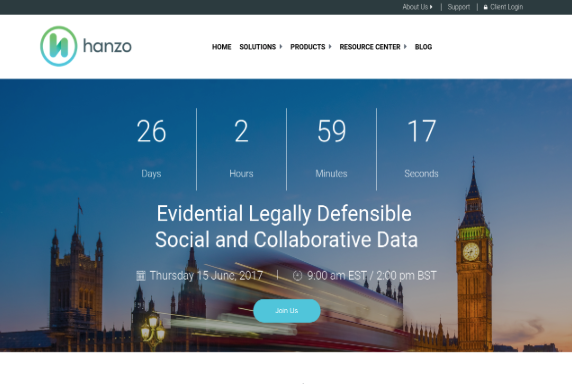 Evidential Legally Defensible Social and Collaborative Data