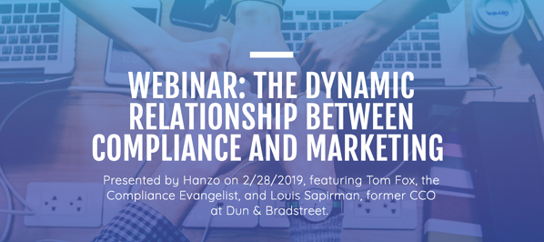 Dynamic Relationship Between Compliance and Marketing