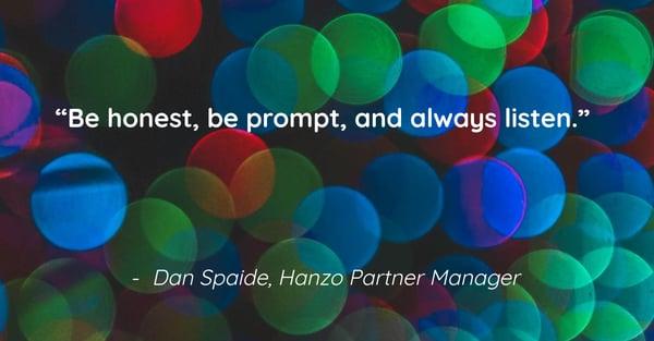 Social Graphic -Meet Team Hanzo - Dan Spaide