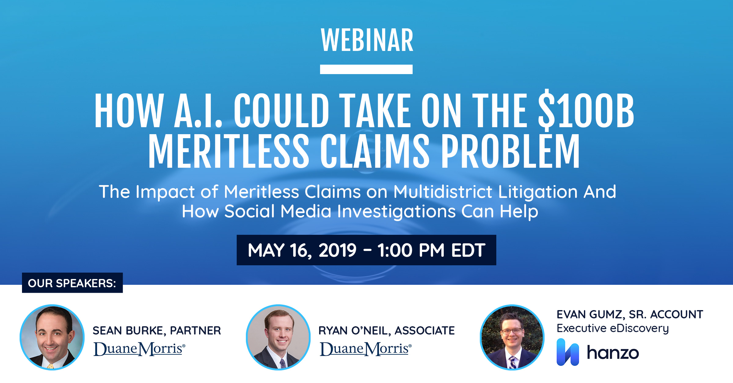 WEBINAR-SOCIAL-CARD3_The Impact of meritless claims Hanzo and Duane Miller LLP