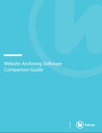 Website Archiving Software Comparison Guide