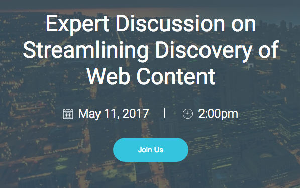 Streamlining Discovery of Web Content