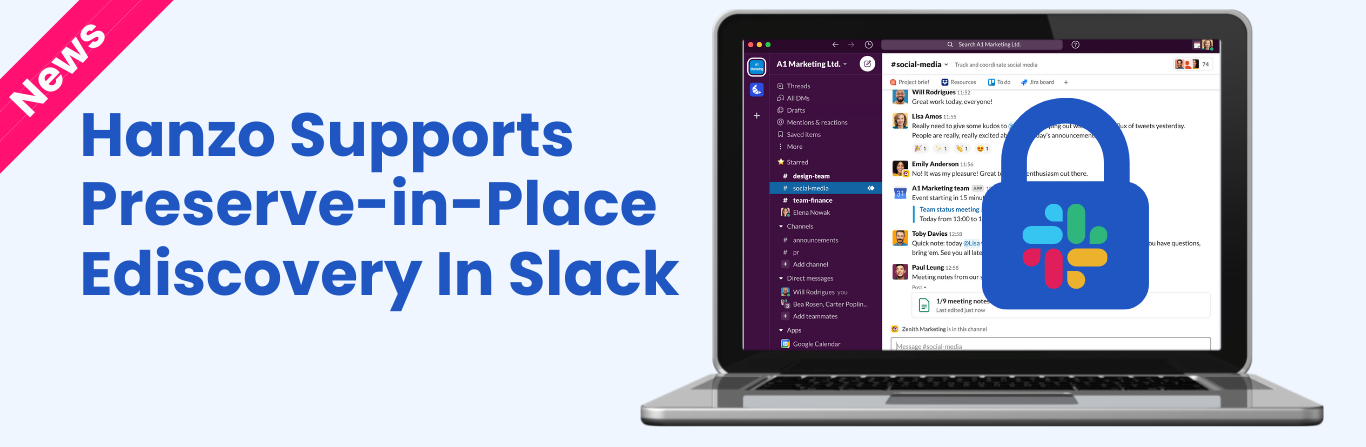 Hanzo Gives Enterprises More Flexibility With New Slack Preserve-In-Place Support