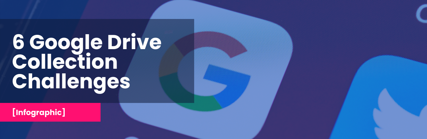 [Infographic] The 6 Most Typical Challenges Enterprise Face When Collecting Data From Google Drive