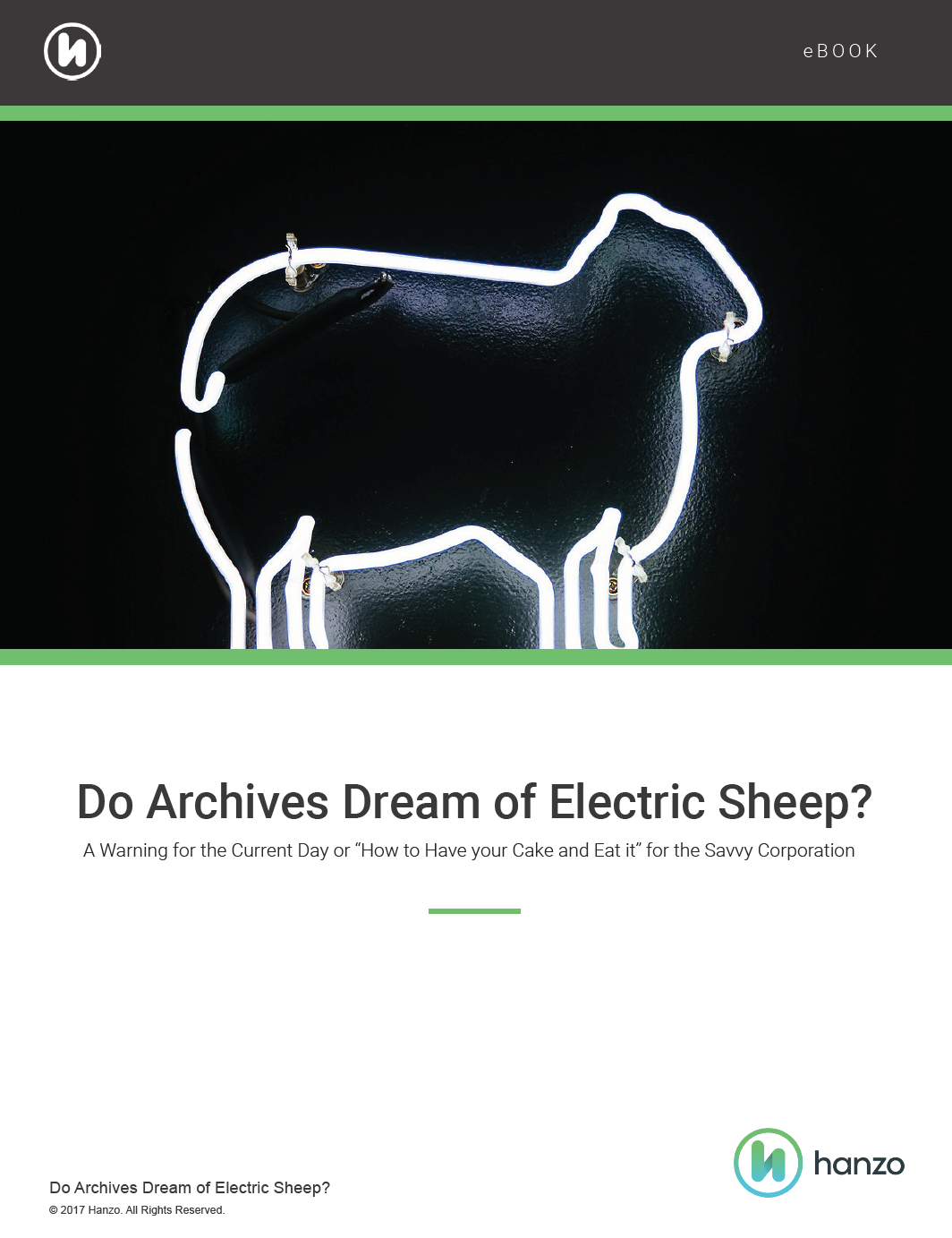 Do Archives Dream of Electric Sheep